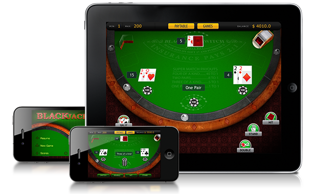 Image iPad Blackjack