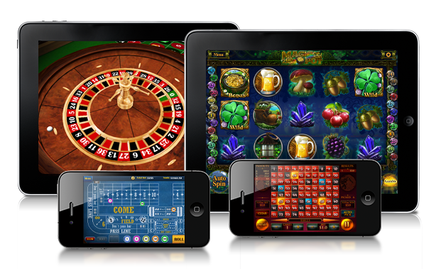 Screenshots van iPad Casino